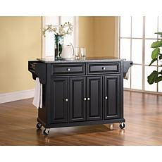 Crosley Solid Granite Top Kitchen Cart