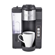 CRUX K-Cup Single Serve Coffee Maker with Water Tank