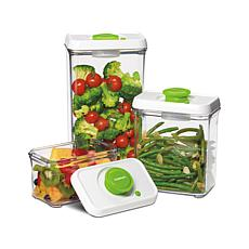 Cuisinart 6-piece Fresh Edge Vacuum Storage - Green