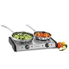 Cuisinart CB-60P1 Countertop Double Burner