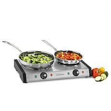 Cuisinart CB-60P1 Countertop Double Burner