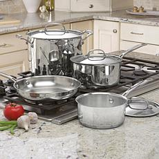 Cuisinart Chef's 7-piece Stainless Steel Cookware Set