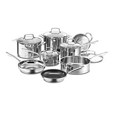Cuisinart Professional Series Stainless Steel 13-piece Cookware Set
