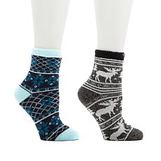 Curations Aloe Cozy 2-pack Socks