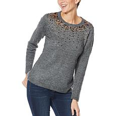 Curations Embellished Sweater