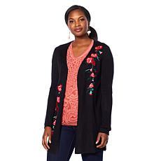 Curations Open Front Cardigan