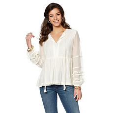 Curations Peasant Blouse