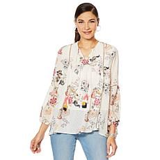 Curations Printed Blouse