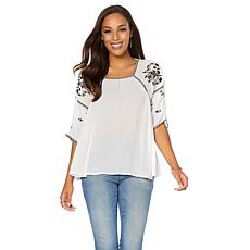 Curations Short-Sleeve Top