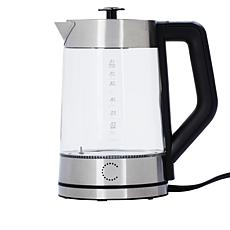 Curtis Stone 1.7 Liter 1500W Electric Glass Kettle