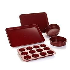 Curtis Stone Dura-Bake® 5-piece Bakeware Set w/Recipes