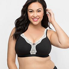 c129646d310 Curvy Couture Cotton Luxe Wire-Free Bra