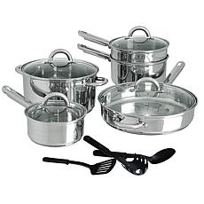Cusine Select Abruzzo Stainless Steel 12-Piece Cookware Set