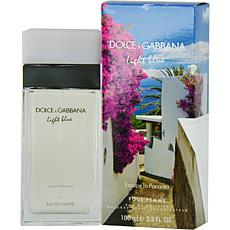 D & G Light Blue Escape To Panarea for Women 3.4 oz.
