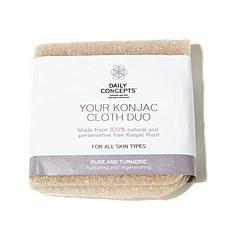 Daily Concepts Your Konjac Cloth - Turmeric