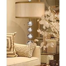 Dale Tiffany Aurora Crystal Lamp
