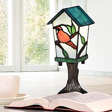 Dale Tiffany Bird House Tiffany Accent Lamp