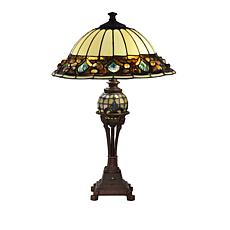 Dale Tiffany Princess Pebble Tiffany-Style Table Lamp