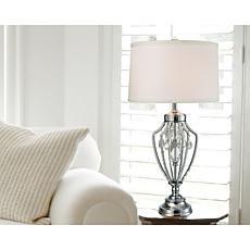 Dale Tiffany Tonya Crystal Table Lamp