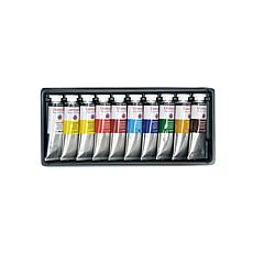 Daler-Rowney Georgian Water Mixable Oil Set of 10 Selection