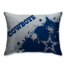 best service adcad fc696 Dallas Cowboys Splatter Print Plush 20x26