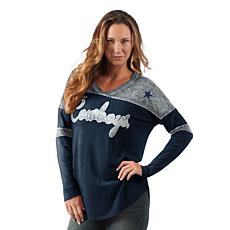 Dallas Cowboys Women's Long-Sleeve Red Zone Tee