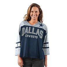 Dallas Cowboys Women's Razzle Dazzle Mesh Top