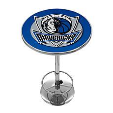 Dallas Mavericks NBA Chrome Pub Table