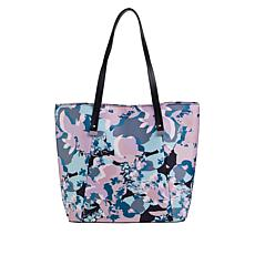Danielle Nicole Printed Nylon Tote with RFID Technology