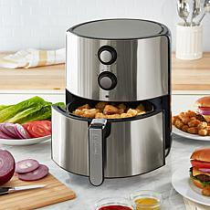DASH Chef Series 5-Quart Nonstick Air Fryer with AirCrisp Technology