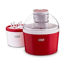 DASH Everyday Ice Cream and Popsicle Maker - Red