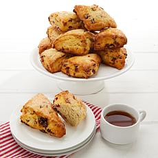 David's Cookies 16-piece Cranberry and Orange Scones