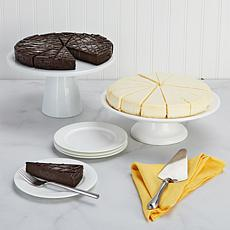 "David's Cookies 2-pack 10"" No Sugar Added Cheesecakes Auto-Ship®"
