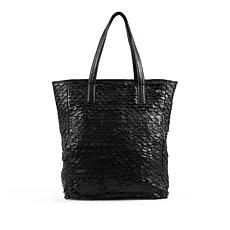 Day & Mood Jamie Genuine Leather Tote - Black