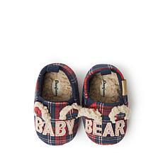 Dearfoams Baby Bear Closed Back Slipper