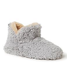 Dearfoams Women's Chelsea Sherpa Bootie Slippers