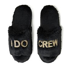 Dearfoams Women's I Do and I Do Crew Scuff