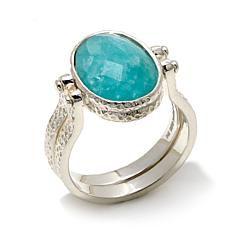 Deb Guyot Designs Herkimer Quartz-Gemstone Flip Ring