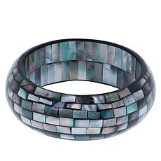 Deb Guyot Studio Mother-of-Pearl Mosaic Bangle Bracelet