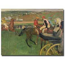 "Degas 'The Race Course' Canvas Art Print - 24"" x 18"""