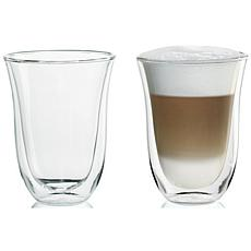 DeLonghi 7.5-oz. Latté Glasses - Set of 2