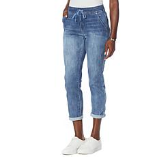 """Democracy """"Ab""""leisure® Pull-On High-Rise Ankle Skimmer Jean"""