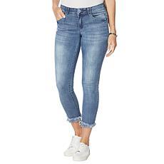 "Democracy ""Ab""solution® Chewed-Hem Ankle Skimmer Jean"