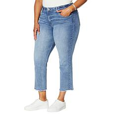 "Democracy ""Ab""solution® Scalloped Hem Slim Crop Jean"