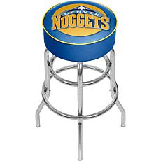 Denver Nuggets NBA Padded Swivel Bar Stool