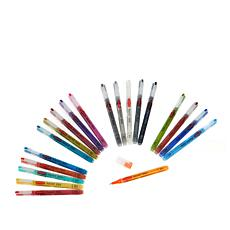 Derwent 20-piece Permanent Water-Based Ink Paint Pen Set