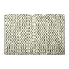 Design Imports 2' x 3' Reversible Diamond Recycled Yarn Rug