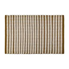 "Design Imports 20"" x 31.5"" Reversible Braided Stripe Rug"