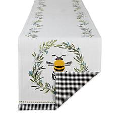Design Imports Bee Kind Table Runner - 14 x 108