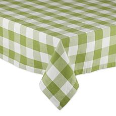 "Design Imports Buffalo Check Tablecloth - 52"" x 52"""